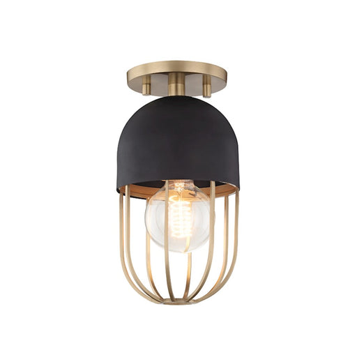 Mitzi by Hudson Valley Haley 1 Light Flush Mount