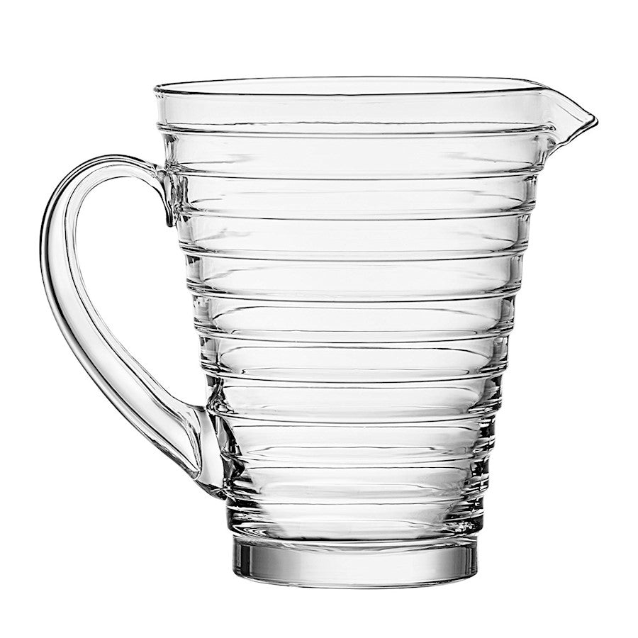iittala Aino Aalto Pitcher 1.25 Quart in Clear