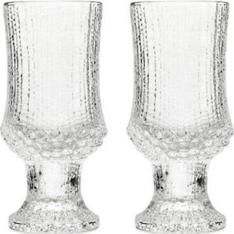 iittala Ultima Thule White Wine Glass Set of 2 in Clear