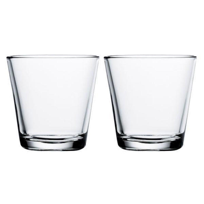iittala Kartio Tumbler Set of 2 7 oz in Clear