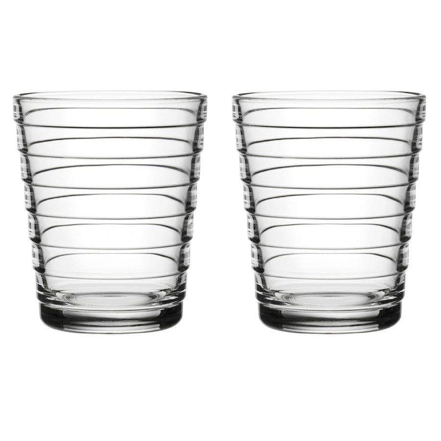 iittala Aino Aalto Tumbler Set of 2 7.75 oz in Clear