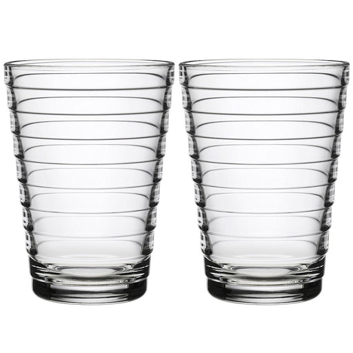 iittala Aino Aalto Tumbler Set of 2 11 oz in Clear