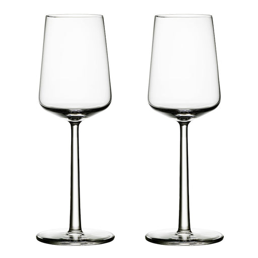 iittala Essence White Wine Set of 2 11.25 oz in Clear