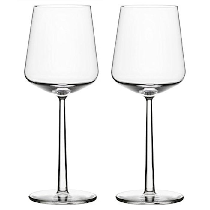 iittala Essence Red Wine Set of 2 15 oz in Clear