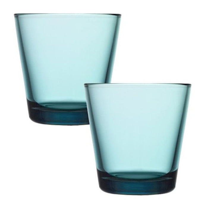 iittala Kartio Tumbler Set of 2 7 oz in Sea Blue