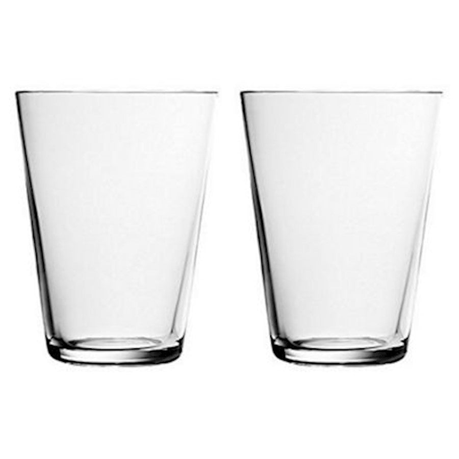 iittala Kartio Tumbler Set of 2 13.5 oz in Clear