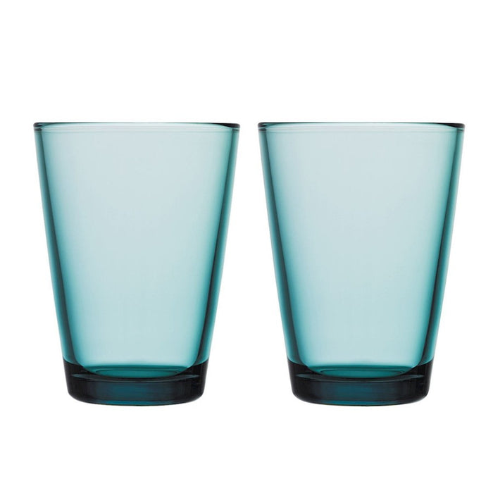 iittala Kartio Tumbler Set of 2 13.5 oz in Sea Blue
