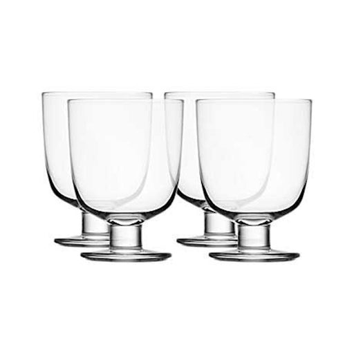 iittala Lempi Universal Glass Set of 4 in Clear
