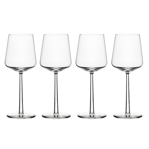 iittala Essence Red Wine Set of 4 15 oz in Clear