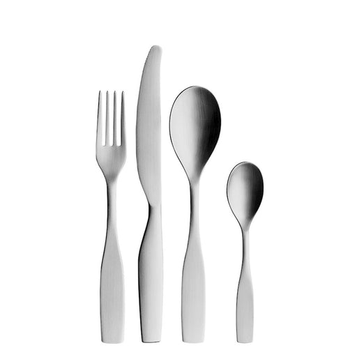 Iittala Citterio 16 Pc Set, Brushed Stainless Steel - 1009818