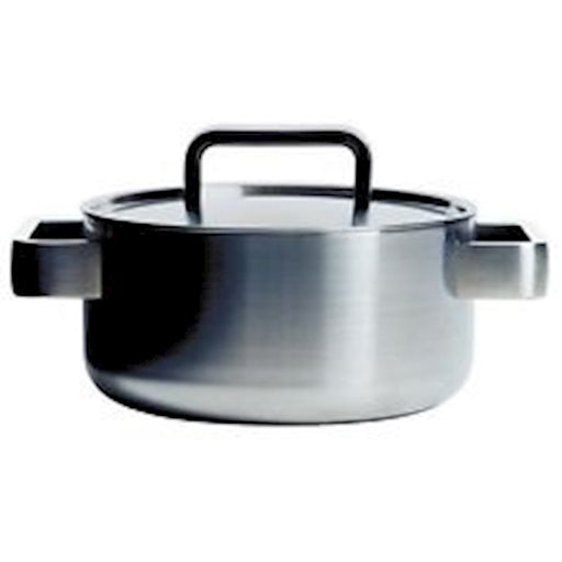 iittala Tools Casserole with Lid 2 Quart in Brushed Stainless Steel