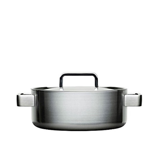 iittala Tools Casserole with Lid 3 Quart in Brushed Stainless Steel