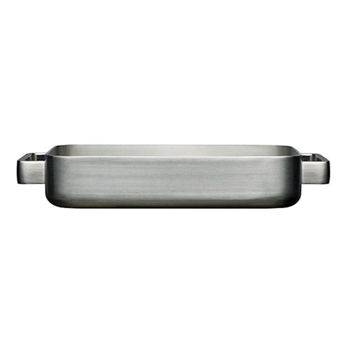 iittala Tools Oven Pan in Small in Brushed Stainless Steel
