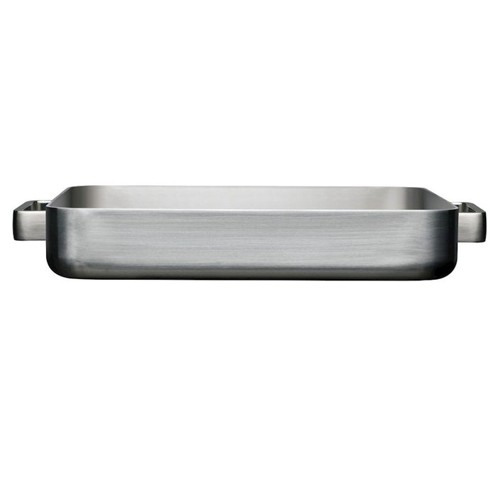 iittala Tools Oven Pan in Large in Brushed Stainless Steel