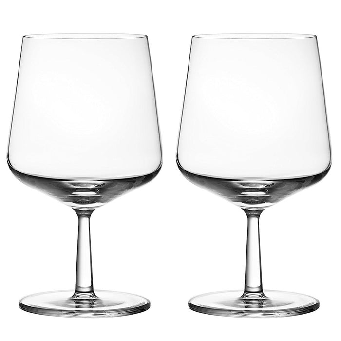iittala Essence Beer Glass Set of 2 16 oz in Clear