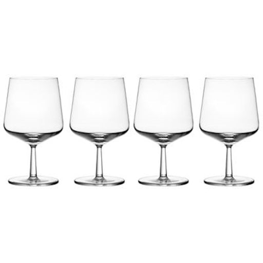 iittala Essence Beer Glass Set of 4 16 oz in Clear