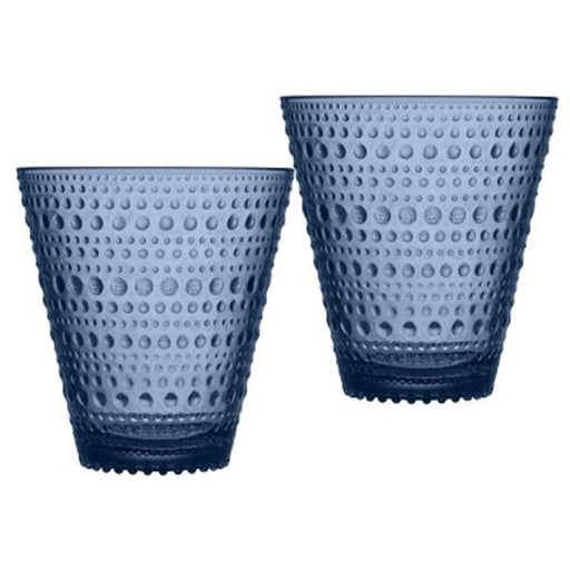iittala Kastehelmi Tumbler 10 oz Set of 2 in Rain