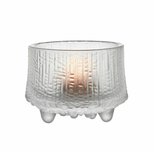 iittala Ultima Thule Tea Candle Holder in Matte Frosted