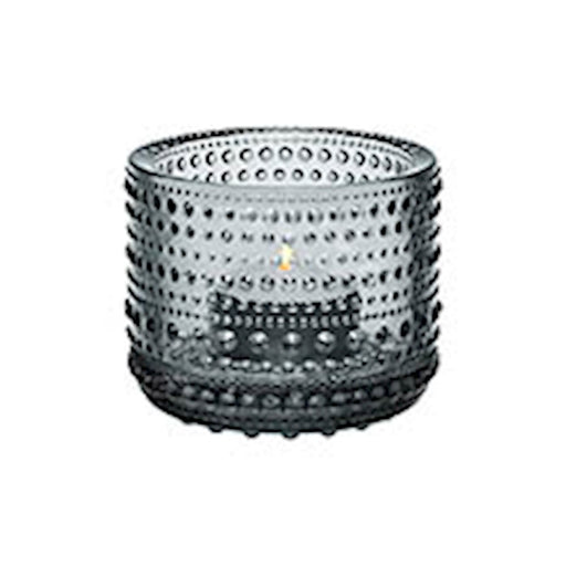 iittala Kastehelmi Tea Candle Holder in Grey