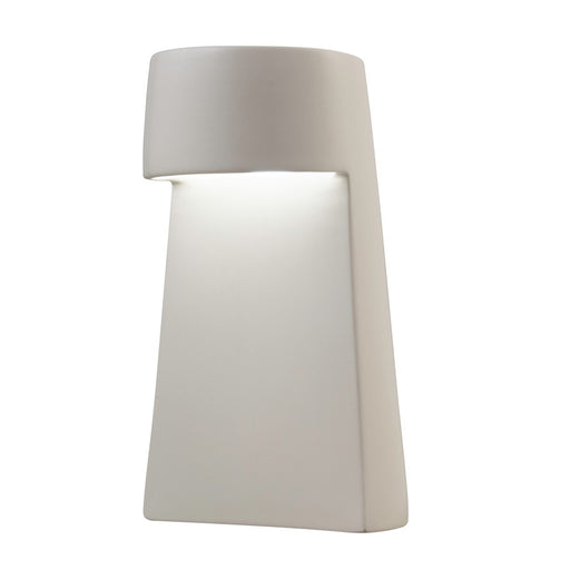 Justice Design Portable Beam Table Lamp in Bisque LED - CER-2450-BIS