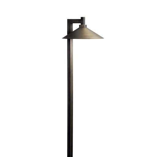 Kichler LED Integrated Ripley Path Light, Centennial Brass