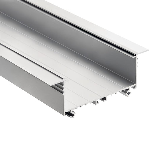 "Kichler ILS TE Series Tape Extrusion Channel, 4.75"" Wide, Silver"