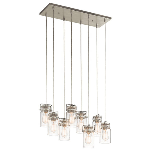 Kichler Brinley 8 Light Linear Chandelier