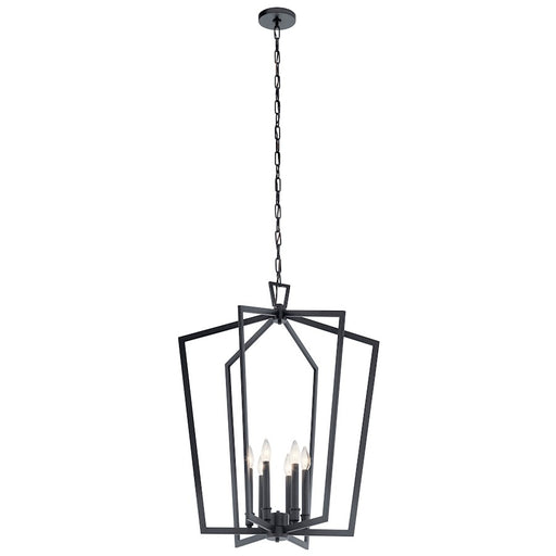 Kichler Abbotswell Large 6 Light Foyer Pendant