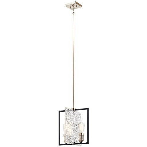 Kichler Forge 2 Light Pendant, Black