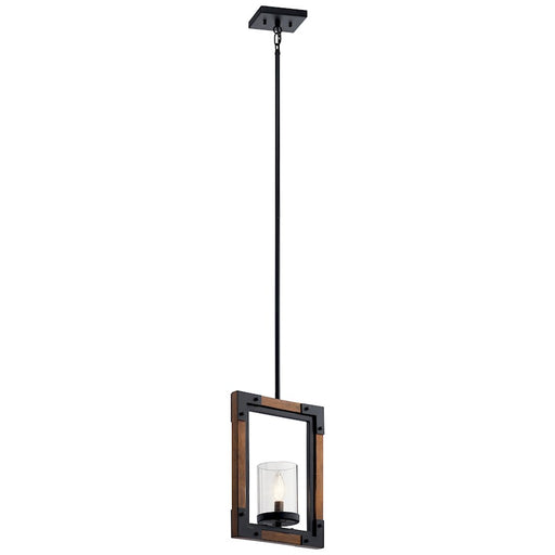 Kichler Marimount 1 Light Mini Pendant, Auburn Stained Finish