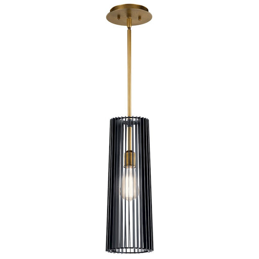 Kichler Linara 1 Light Pendant, Black