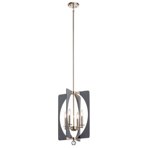 Kichler Alscar 4 Light Pendant, Driftwood Grey