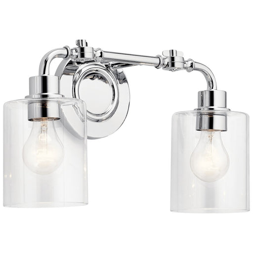 Kichler Bathroom Vanity Light, Chrome