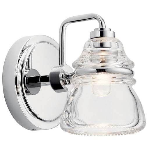 Kichler Talland 1 Light Wall Sconce, Chrome