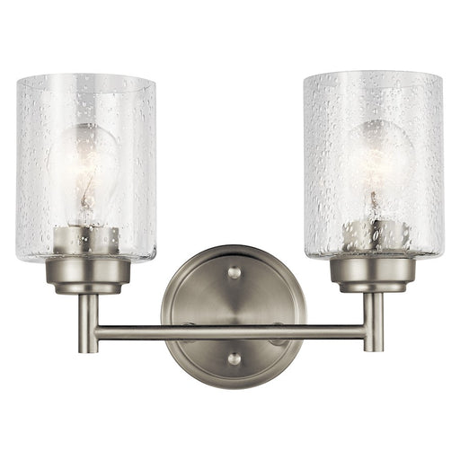 Kichler Winslow Bath Light, Brushed Nickel