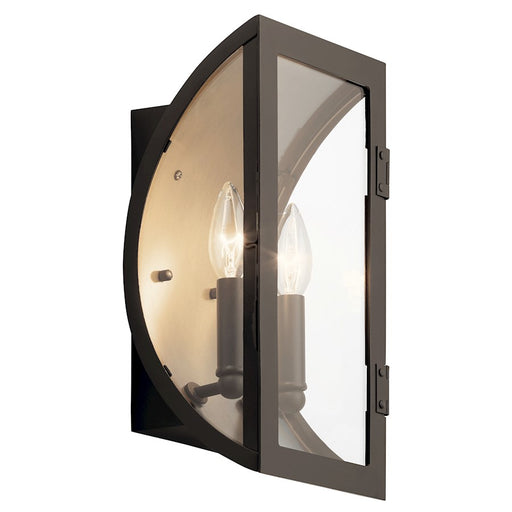 Kichler 2 Light Contemporary Outdoor Wall