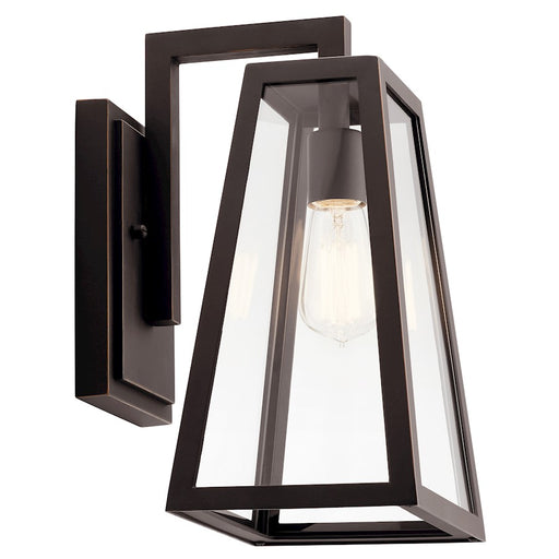 Kichler 1 Light Outdoor Wall Sconce, Rubbed Bronze