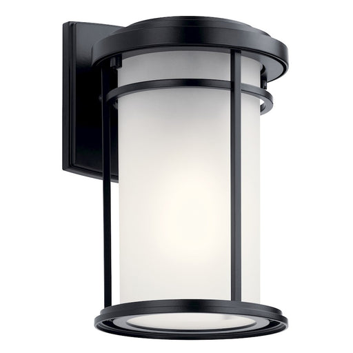 Kichler Toman Outdoor 1 Light Wall Sconce, Black