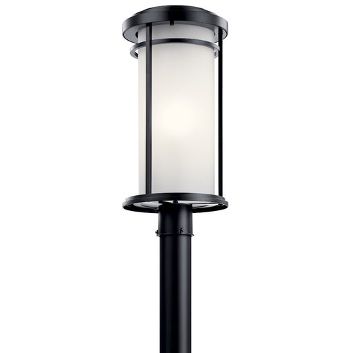 Kichler Toman 1 Light Outdoor Post Mount Light, Black