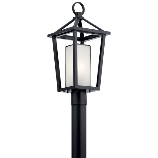 Kichler 1 Light Outdoor Post Lantern, Black