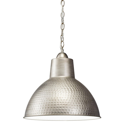 Kichler Missoula 1 Light Pendant, Antique Pewter