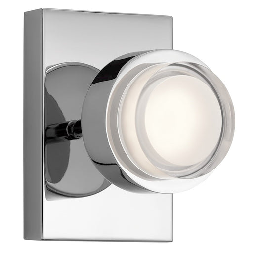 Kichler Contemporary Wall Sconce LED, Chrome
