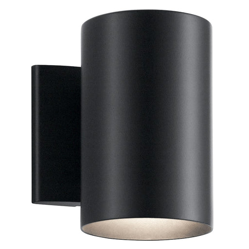 Kichler Indoor/Outdoor 1 Light Wall, Black