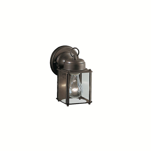 Kichler New Street 1 Light Outdoor Wall Light, Olde Bronze