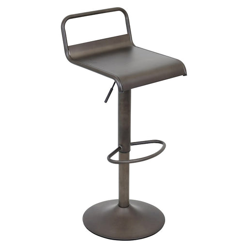 LumiSource Emery Barstool, Antique Finish - BS-TW-EMRYAN