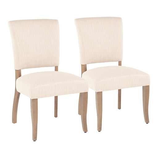 LumiSource Rita Dining Chair, Set of 2