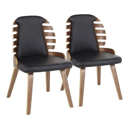 LumiSource Palm Dining Chair, Set of 2