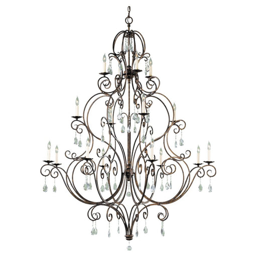 Feiss Chateau 16-Light Multi-Tier Chandelier