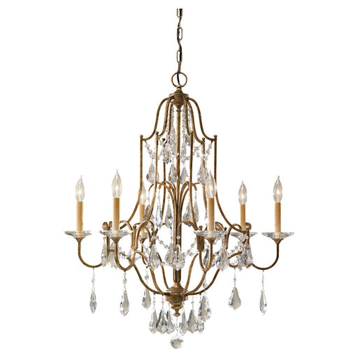 Feiss Valentina 6-Light Single Tier Chandelier
