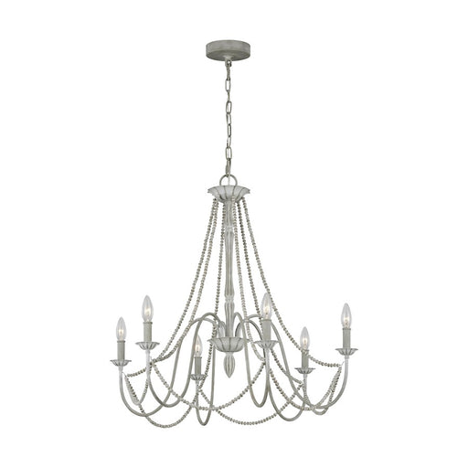 Feiss Maryville Chandelier, Washed Grey